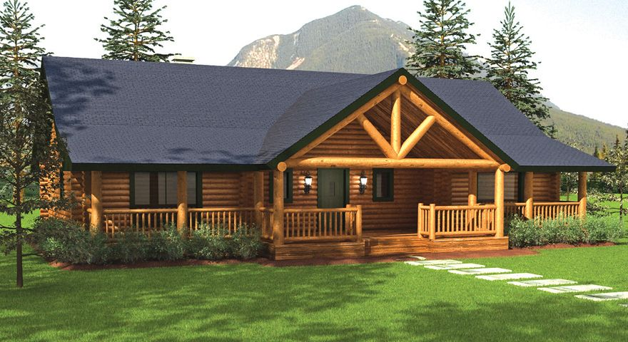 Sequoia Log Home