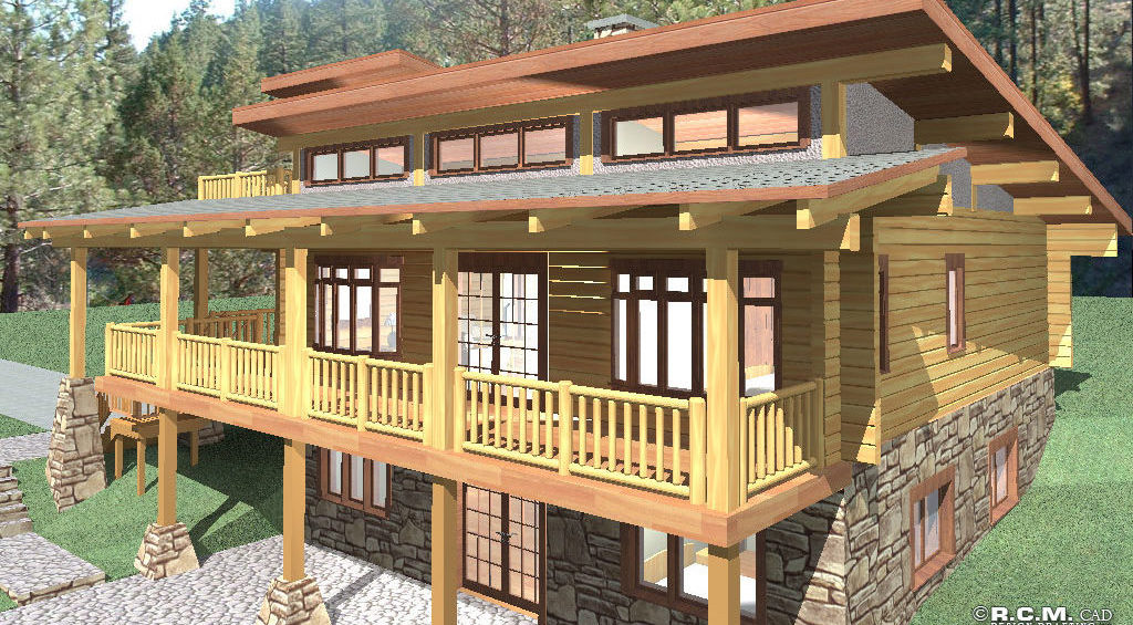 Featured Floor Plan: Telegraph Creek Click to View