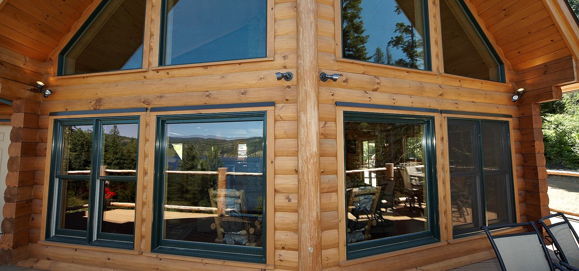 Windows and Doors for Log Homes