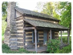 oldest log home